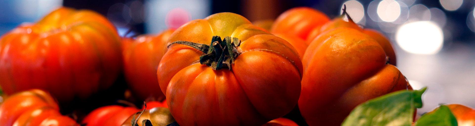 Tomates frescos del Restaurante El Galeón