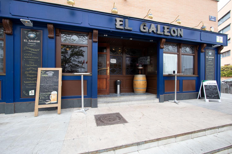 Entrada Restaurante El galeón en Alcorcón