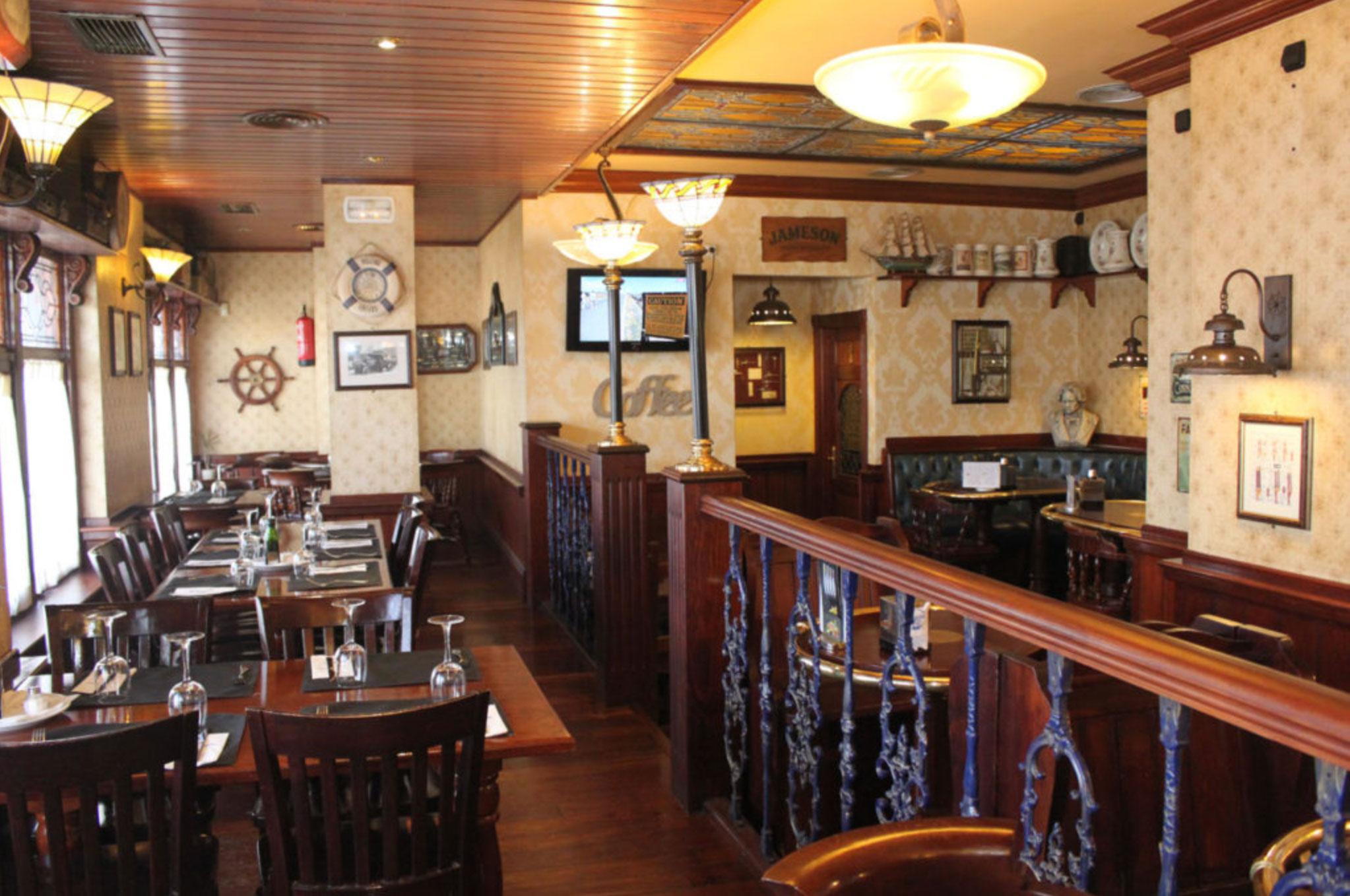 Panorámica restaurante El Galeón en Alcorcón