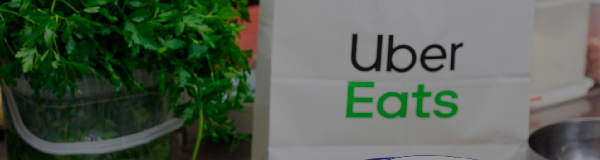 Bolsa de Uber eats del Restaurante El Galeón